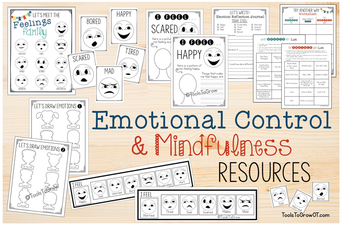 Resources - Emotional Control &Mindfulness by Tools to Grow
