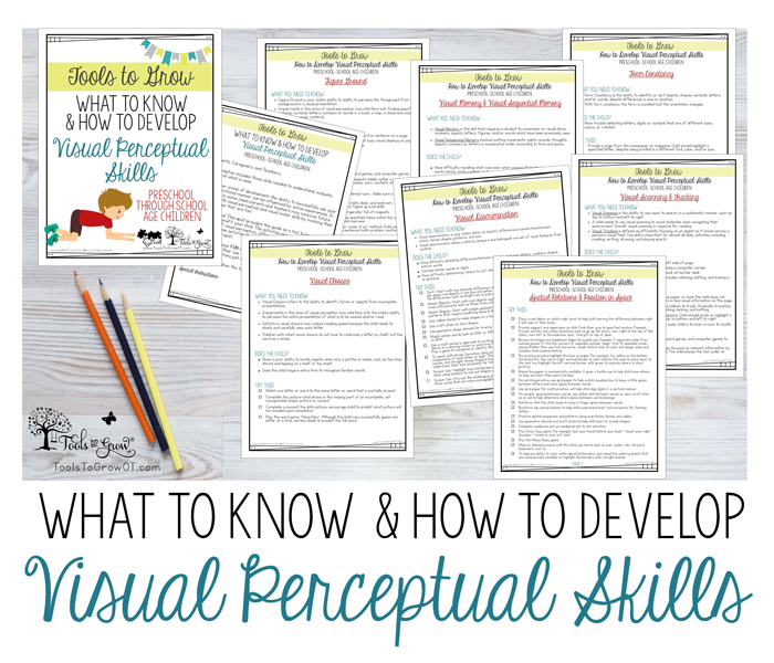 What to Know & How to Develop Visual Perceptual Skills