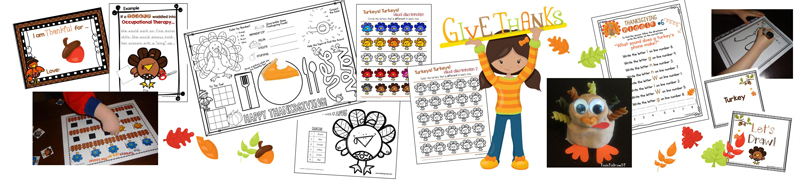 Thanksgiving Activities and Resources