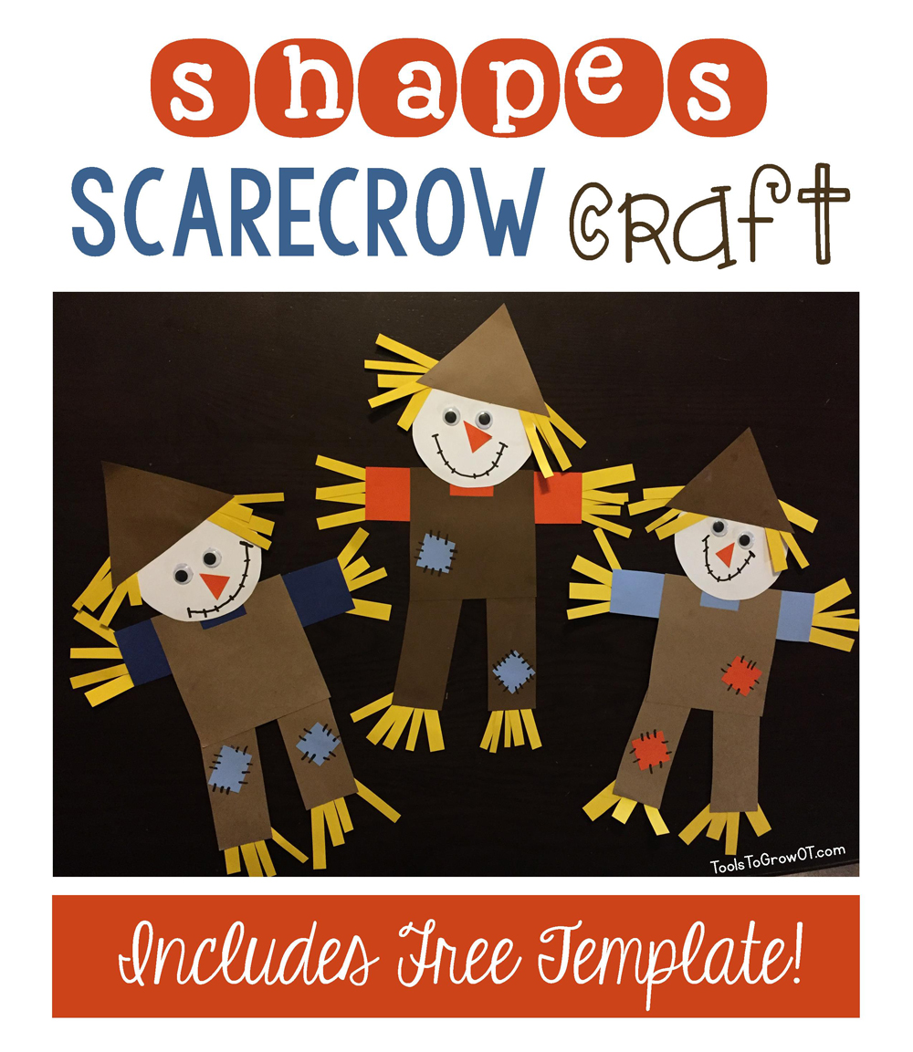 Shapes Scarecrow Craft | Blog | Tools To Grow, Inc.