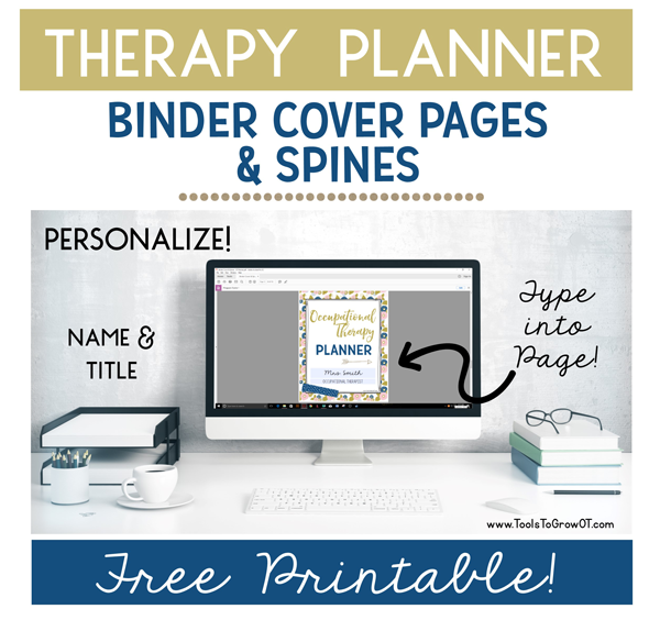 The Ultimate Therapy Planner - Tools for Occupational Therapists