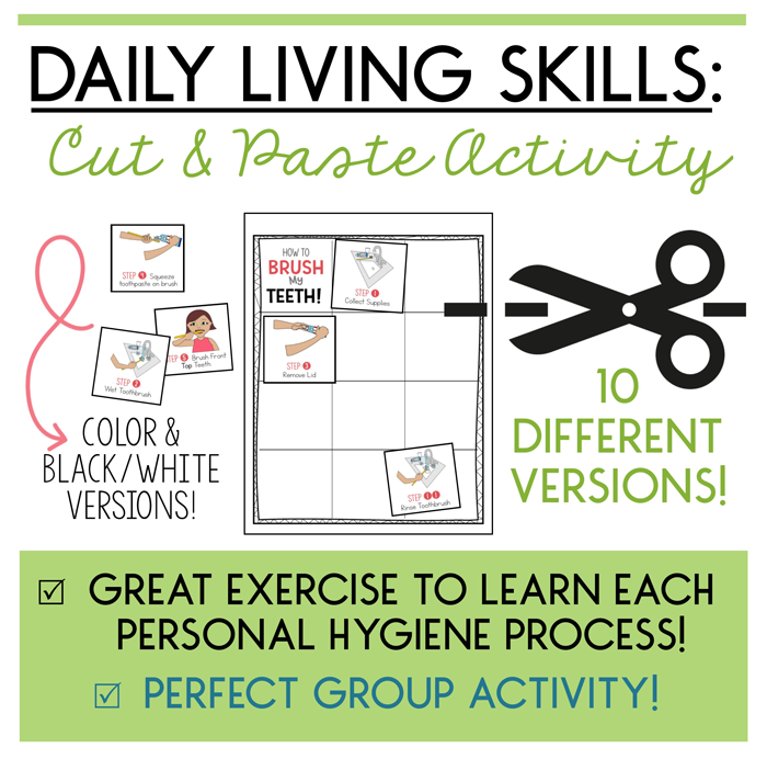 Daily Living Skills Strategies To Help Sequence Achieve