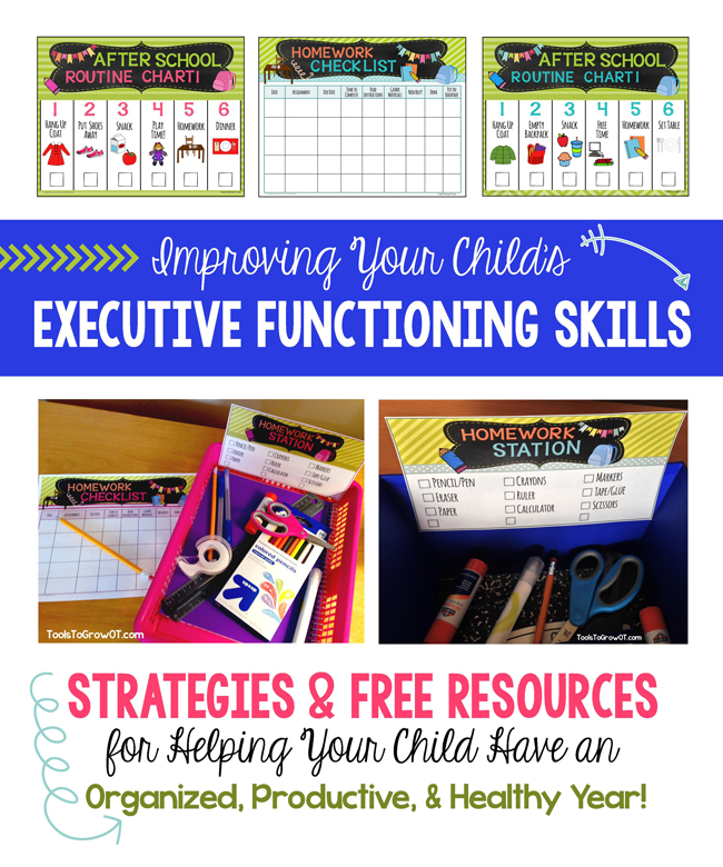 Improving Your Child's Executive Functioning Skills at Home