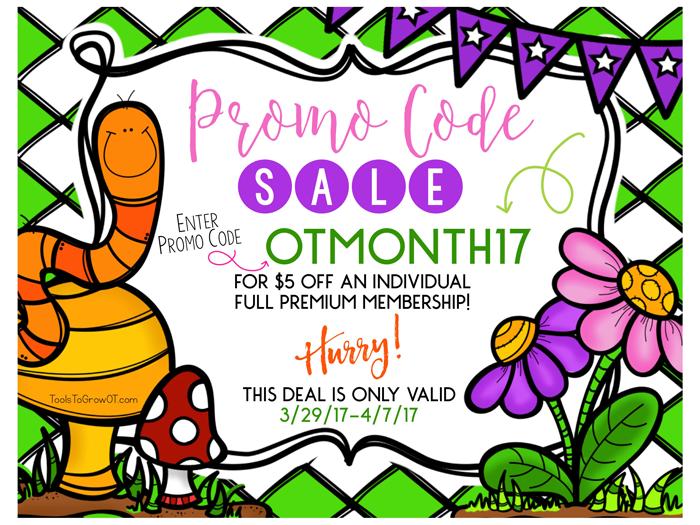 OT MONTH Promo Code SALE!