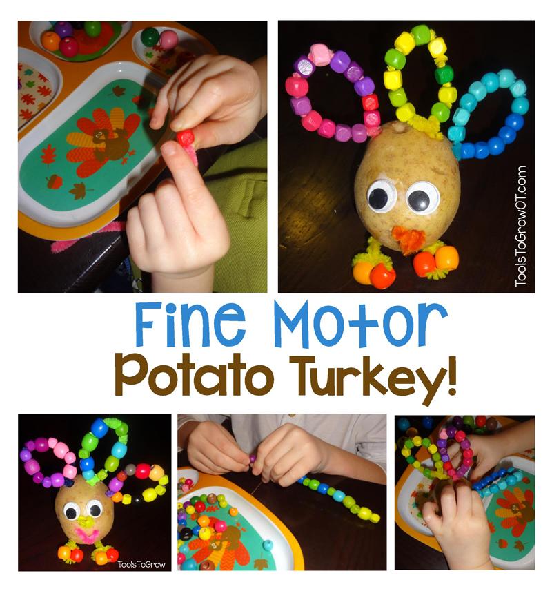 Fine Motor Turkey - Tools to Grow