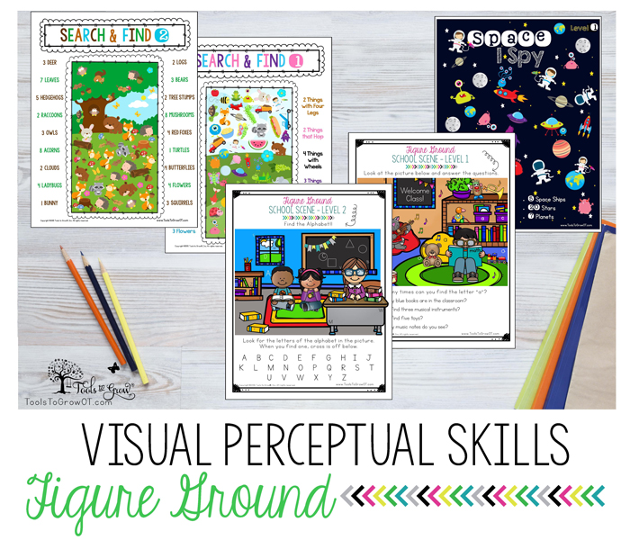 VISUAL PERCEPTION:Figure Ground activities, resources