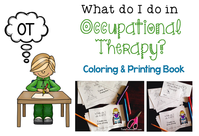 What do I do in OT? Coloring and Printing Book