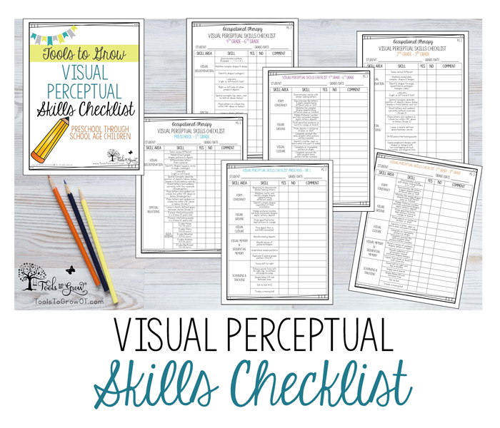 Visual Perceptual Skills Checklists