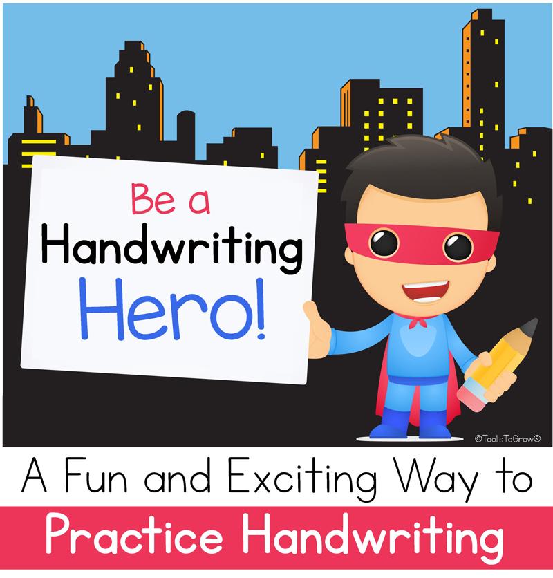 Be A Handwriting Hero Tool To Address Handwriting Rules