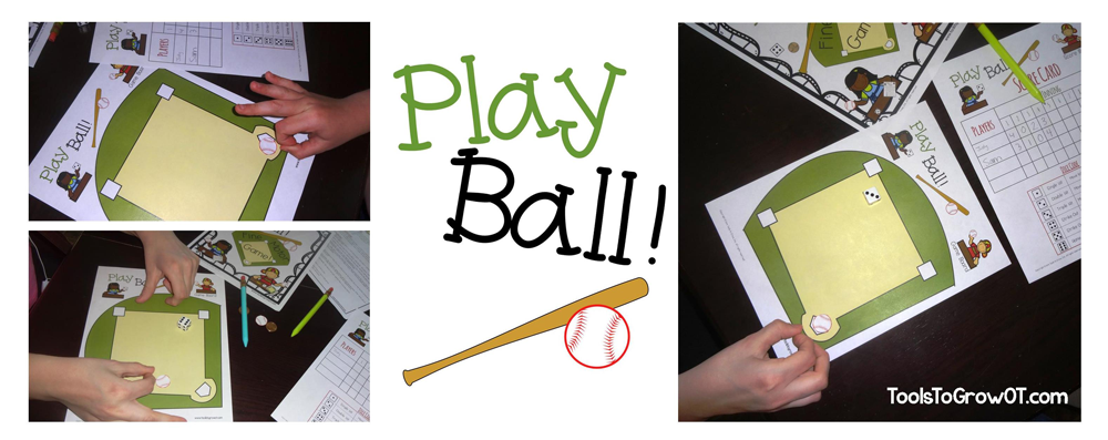 Play Ball Fine Motor Game Tools to Grow