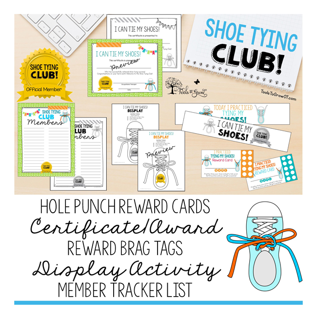 Shoe Tying Club!!! Shoe Tying Tips, Tools, and Resources to help children