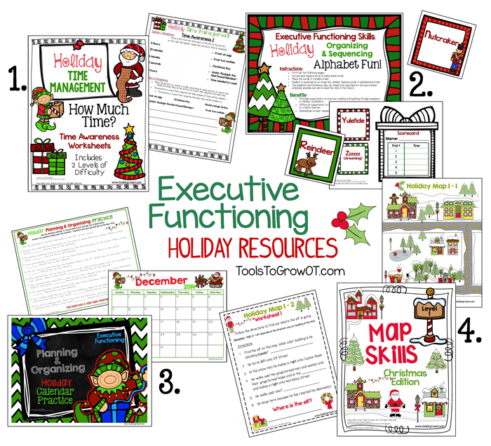 Tools to Grow - Executive Functioning Skills and the Holidays