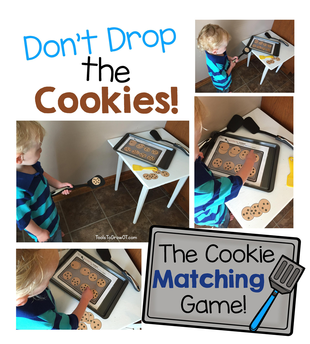 Movement and Learning Game - Don't Drop the Cookies