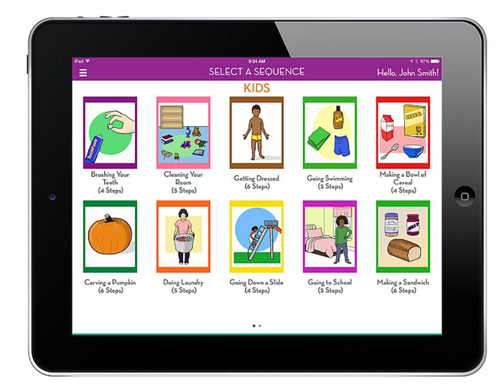 Kids Sequencing App Review - StepbyStep
