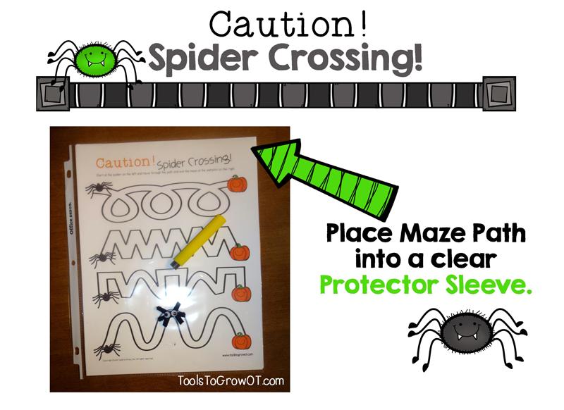Halloween Maze - Tools to Grow