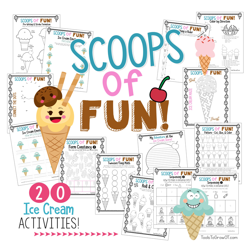 Scoops of Fun - 20 Summer Ice Cream Resources and Activities