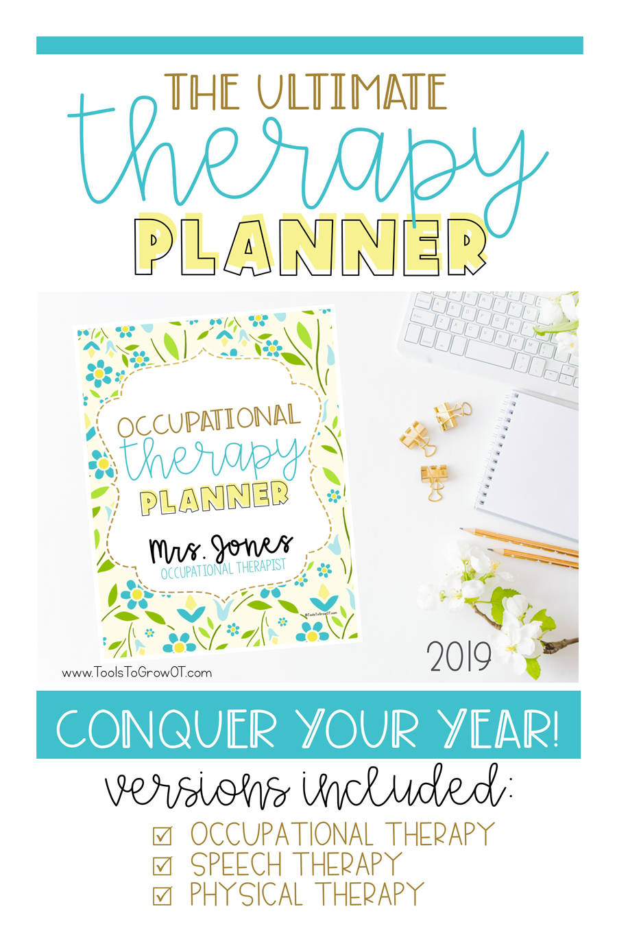 The 2019 Ultimate Therapy Planner | Blog | Tools To Grow, Inc.