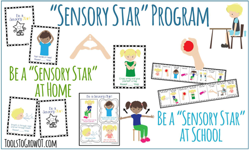 Sensory Star Program Self-Regulation Sensory Diet