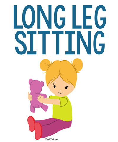 Long Leg Sitting - Copyright ToolsToGrowOT.com