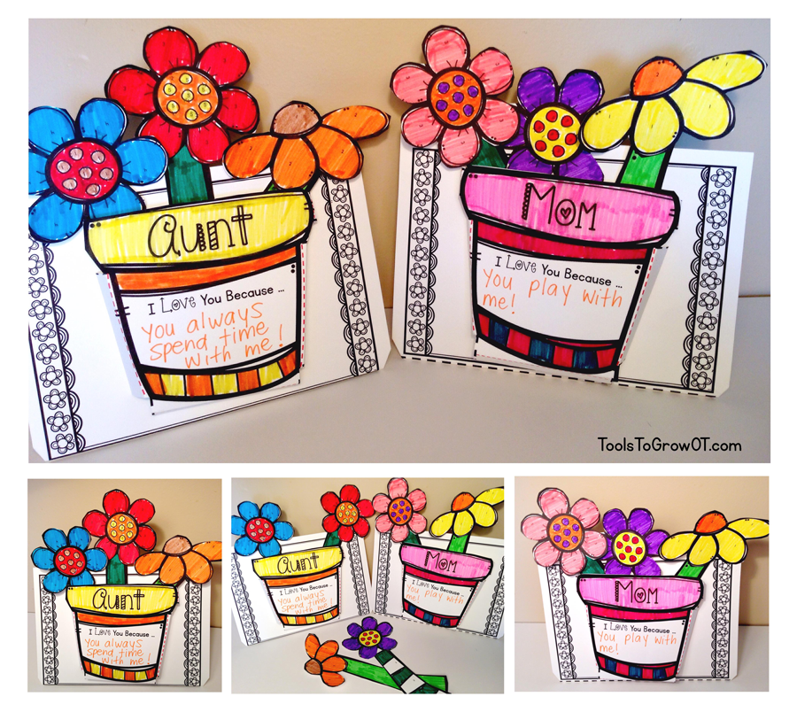 Mother's Day 3-D Flower Craft | Blog | Tools To Grow, Inc
