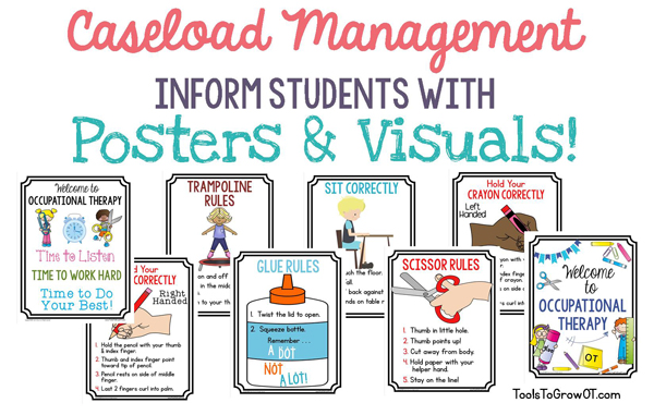 Caseload Management - Posters and Visuals for Occupational Therapy