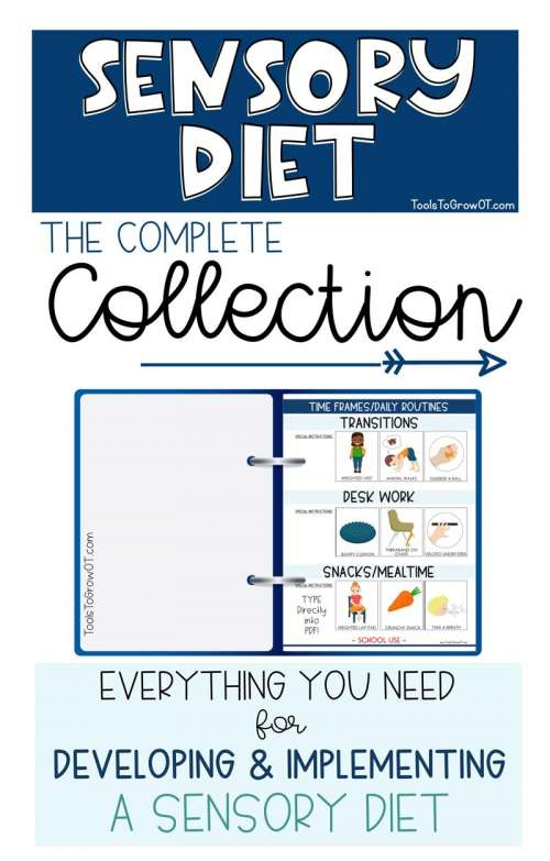 It's just a picture of Crafty Sensory Diet Cards Printable